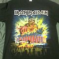 Iron Maiden Forum/Book of Souls tour shirt
