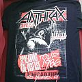 Anthrax: Spreading the Disease/Tour 2016 shirt