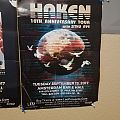 Haken X Tour: Amsterdam gig poster Other Collectable