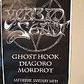 Morbid Saint gig poster Other Collectable