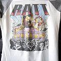 T Shirt Ratt Tour 1985