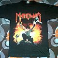 Vintage Manowar 'Agony And Ecstacy' World Tour 94-95 T shirt