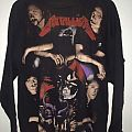 Vintage Rare!! METALLICA 'Ride The Lightning' Cover at the back Bootleg 90s by Empire Size XL  TShirt or Longsleeve