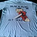 Black Flag - My War t-shirt