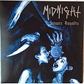 MIDNIGHT - Satanic Royalty blue LP 2014 pressing Tape / Vinyl / CD / Recording etc