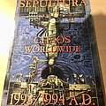 Sepultura Chaos worldwide 1993/1994 AD Program Other Collectable