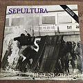 Sepultura Refuse Resist (12)  LP Brazilian release Tape / Vinyl / CD / Recording etc
