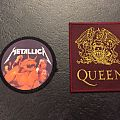 Metallica/queen patch