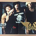 Four Aerosmith posters