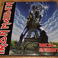 iron Maiden 3 lp boxset on coloured vinyl Back to the Front Tape / Vinyl / CD / Recording etc