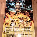 Iron Maiden intercity express UK tourposter  Other Collectable