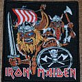 Iron Maiden Viking Patch