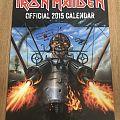 Iron Maiden  2015 calendar Other Collectable