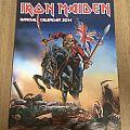 Iron Maiden 2014 calendar Other Collectable