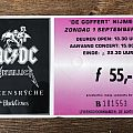 AC/DC  Metallica concert ticket (1991) Other Collectable