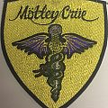 Motley Crue Dr Feelgood Shield  patch