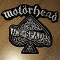 Motorhead ace of spades Shaped patch