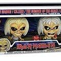 iron Maiden Funko figures four pack (Glow in the dark)