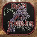 Iron Maiden - Patch - Iron Maiden somewhere in time sqare patch