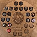 Iron Maiden Legacy of the beast beer caps in a awesome frame Other Collectable