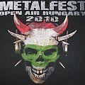 Metalfest Open Air Hungary 2010 t-shirt