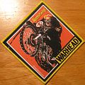 Warhead Speedway patch with yellow border