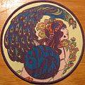 Blues Pills patch with purple border