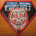 Atomkraft Future Warriors patch with red border