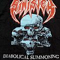 "Sinister - TShirt or Longsleeve - Sinister(Usa) ""Diabolical Summoning"" TS VG XL"