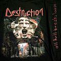 """Destruction """"All Hell Breaks Loose"""" Longsleeve T-Shirt"""