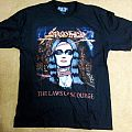 "Sarcofago - TShirt or Longsleeve - Sarcofago(Bra) ""The Laws of Scourge"" TS NW XL"