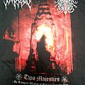 "Impiety / Surrender of Divinity ""Two majesties"" T-Shirt EP Cover"