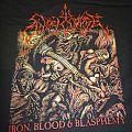 "Angelcorpse - TShirt or Longsleeve - Angelcorpse ""Iron Blood Blasphemy"" T-Shirt"