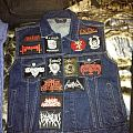 Battle Jacket - My vest in its current state