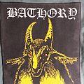 Bathory Yellow Goat Back Patch