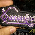 queensryche logo patch