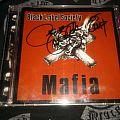 signed black label society mafia cd