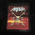 Anthrax - Patch - Anthrax - Persistence of Time Patch