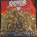Kreator - Patch - Kreator - Phantom Antichrist patch (With weird mistake)