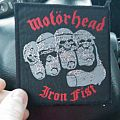 Motorhead - Iron Fist vintage patch