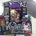 Back patch ripped... need new one.