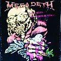 Megadeth Peace Sells.... Back Patch