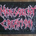 Malevolent Creation Leather Patch