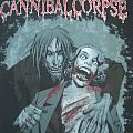 Cannibal Corpse - European plague Tour 2009 shirt