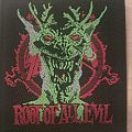 "Slayer - ""The Root of all Evil"" Woven Patch"