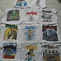Anthrax - TShirt or Longsleeve - Anthrax, Flotsam And Jetsam, DRI, Death...........White shirt attack
