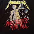Tshirt Metallica - ...... And Justice For All