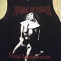 "T Shirt Cradle Of Filth - "" Vestal Masturbation """
