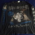 "Longsleeve Cradle of Filth - "" Life Is My Sacrifice """