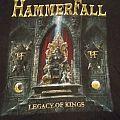 """T Shirt Hammerfall - """" Legacy Of Kings"""""""